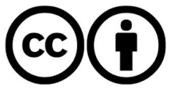 cc-by license logo